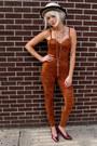 Spandex-some-velvet-vintage-bodysuit