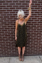 sparkle some velvet vintage dress
