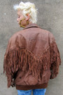 Brown-fringe-some-velvet-vintage-jacket