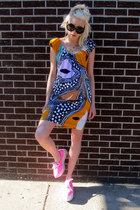 printed Diane Von Furstenberg dress