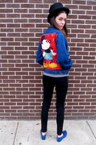 mickey mouse some velvet vintage jacket