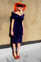 suede Firenze dress