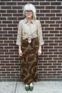Tawny-leopard-some-velvet-vintage-skirt