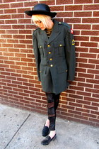 army green army some velvet vintage jacket