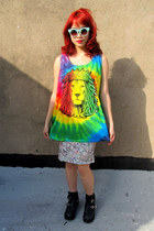 lion some velvet vintage shirt