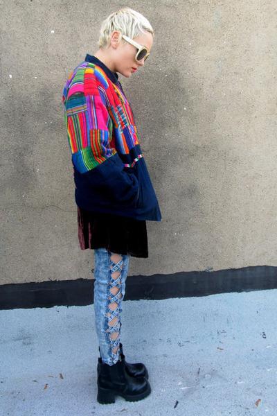 neon some velvet vintage jacket