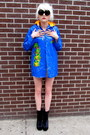 Bubble-gum-members-only-some-velvet-vintage-cape
