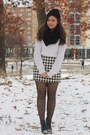 Black-h-m-boots-white-aeropostale-sweater-black-oasap-tights