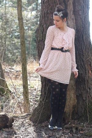 light pink modcloth dress