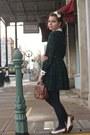 Vintage-dress-thrifted-purse-vintage-heels