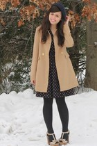 camel Forever21 coat