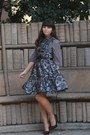 Charcoal-gray-eshakti-dress-silver-modcloth-dress
