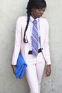 Light-pink-zara-blazer-white-h-m-shirt-blue-clutch-zara-bag-light-pink-zar