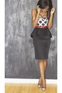 Print-motel-rocks-bodysuit-black-peplum-river-island-skirt