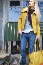 Bershka jacket - Pull & Bear jeans - Bershka bag - H&M sunglasses