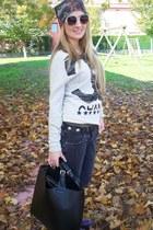 Zara coat - Dr Martens boots - met jeans - Zara bag - Stradivarius sunglasses