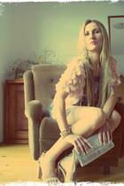 smash dress - H&M jacket - united colors of benetton purse - Stradivarius heels