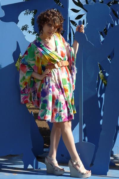 H&M garden collection dress - beige Cathy Jean dress