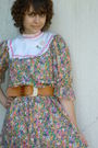 Vintage-dress-vintage-belt-vintage-shoes-vintage-accessories-balenciaga-