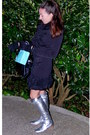 Silver-sergio-rossi-boots-black-bebe-coat-light-blue-tiffany-co-accessories