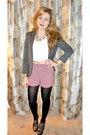Blazer-urban-outfitters-shorts-top-necklace-carvela-wedges