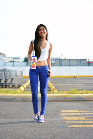 Keds shoes - Forever 21 pants