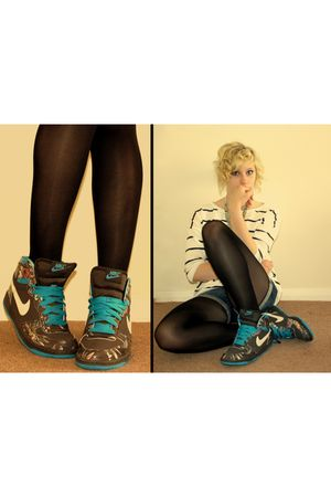 nike shoes - H&M top