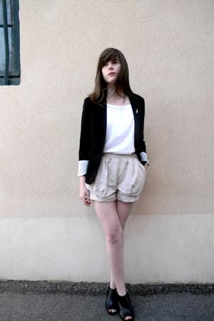 ivory H&M shorts