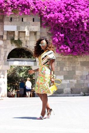 Mawi bracelet - Prada sunglasses - christian dior heels