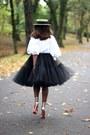 Alexander-mcqueen-bag-asos-skirt-christian-louboutin-heels