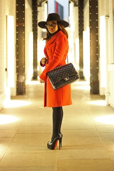 Chanel bag - Christian Louboutin heels