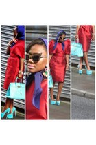 Christian Louboutin pumps - dolce&gabanna dress - Hermes bag