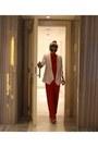 Cream-amaro-blazer-gold-zerouv-sunglasses-red-evapore-jumper