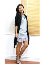 Chaps jacket - siamsquare dress - Soi Aree necklace - siamsquare shoes