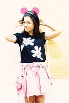 PlatinumBangkok top - siamsquare skirt - siamsquare shoes - platinum accessories