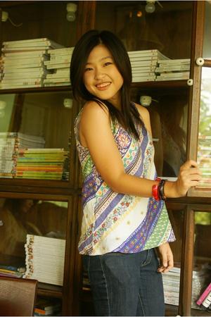 Chiangmai top - Chiangmai bracelet - Chiangmai bracelet - mbk jeans