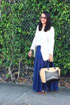 H&M blazer - kate spade bag - Forever 21 skirt