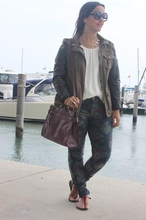 Zara jeans - Forever 21 bag - Forever 21 blouse - Forever 21 necklace