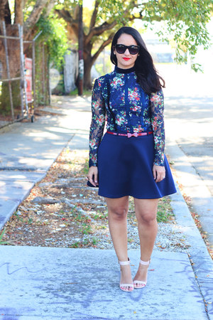 sammydress blouse - Forever 21 skirt - Payless sandals