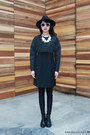 H-m-shoes-iohll-dress-topshop-hat-mosstories-necklace-spitfire-glasses