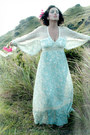 Light-blue-lace-vintage-dress