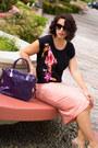 Black-chandelier-forever-21-earrings-deep-purple-patent-sm-store-bag