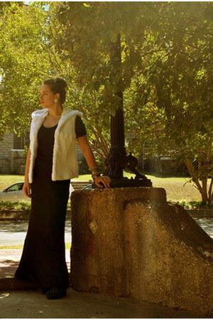 Toshop shirt - Jenni Kayne wedges - Joie vest - Topshop skirt