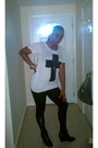 J-c-pennys-leggings-forever21-shirt-black-crosses-hot-topic-earrings