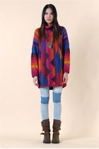 New Mexico Daybreak Sweater Dress