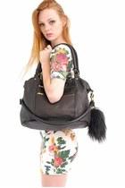black Deadly Ponies bag