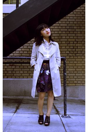 Shirt-skirt-cardigan-jacket-necklace-accessories