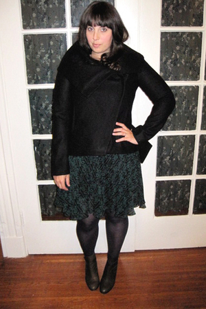Helmut Lang jacket - 31 phillip lim dress - H&M tights - Colonial Madness for LD