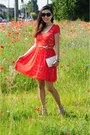 Red-lace-janice-dress-ivory-woc-chanel-bag