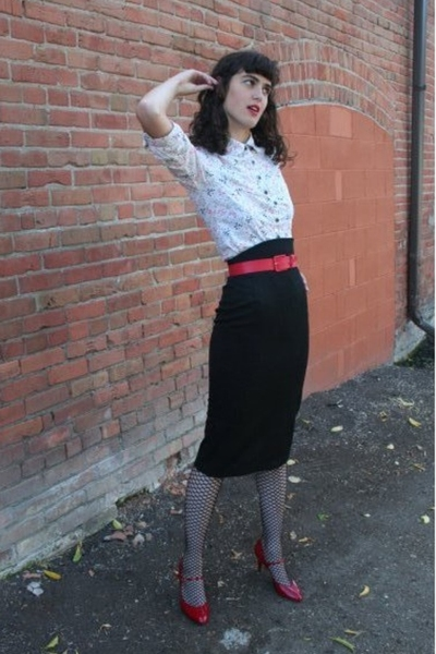 I made it skirt - blouse - shoes